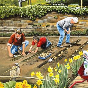 Календарь садовода-огородника. Горячий Май