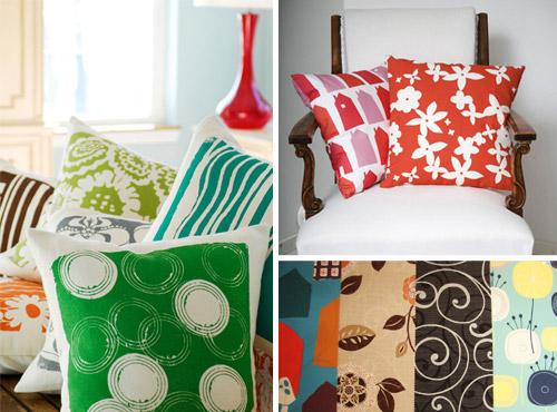 Оформление интерьера текстилем