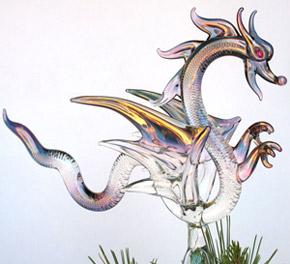 елочные игрушки дракон